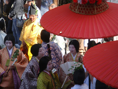 Aoi Matsuri, or Why We Didn't See Kyoto's Imperial Palace