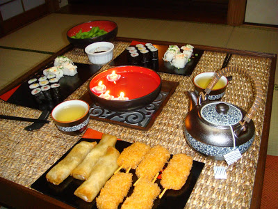Three Courses in Japanese