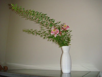 Ikebana Class—Moribana and a Natural Development