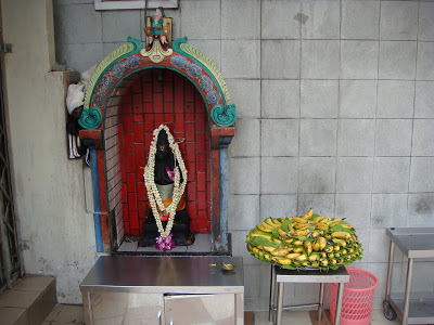 Bananas at Sri Veeramakaliamman Temple