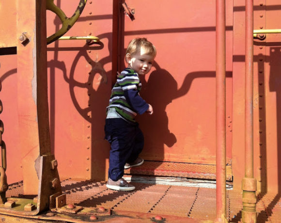 Training My Tot at the West FL Railroad Museum