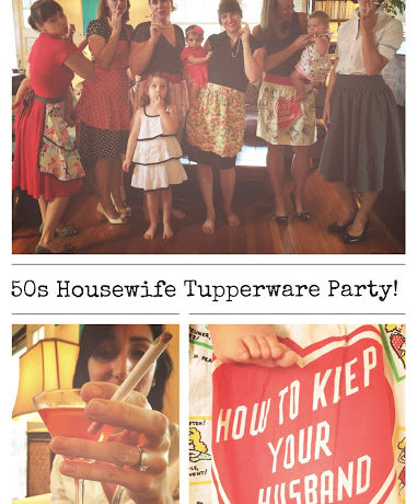 50s Housewife Tupperware Party