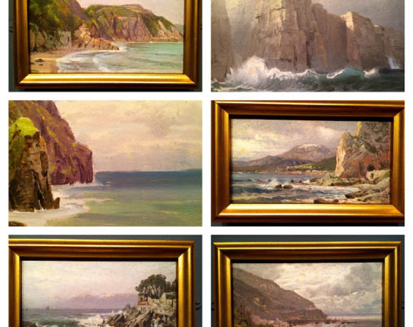 Color Study of Seascapes